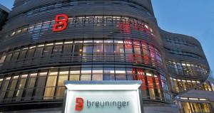 <strong>Kö-Bogen Düsseldorf</strong><br />  Mieterausbau, Sanitär und Kälte.