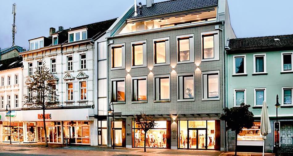 <strong>Stadthaus, Hilden</strong><br />  Heizung, Sanitär und Klima.
